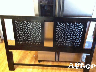 Furniture Friday – DIY Before & After DIY Headboard