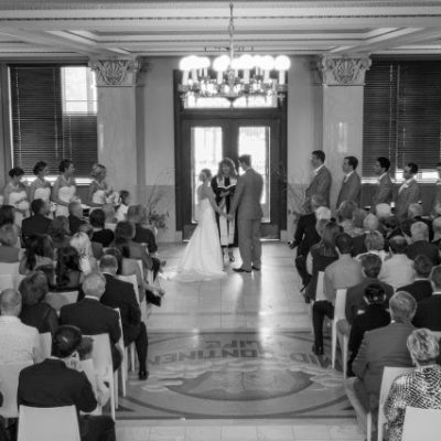 Wedding Wednesday – We're married!