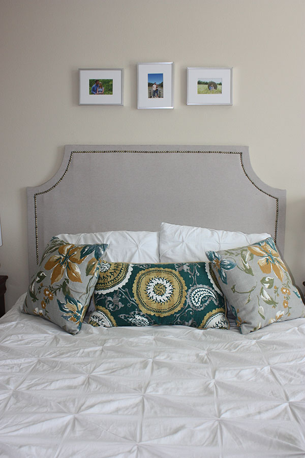 DIY headboard (Pottery Barn knockoff!)