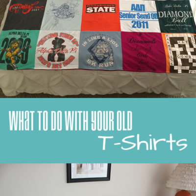 What To Do With Your Old T-Shirts