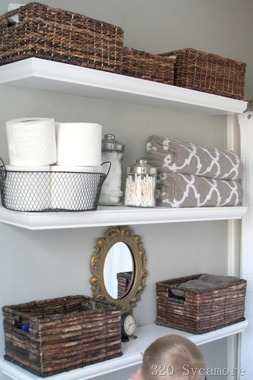 Cheap floating shelves!