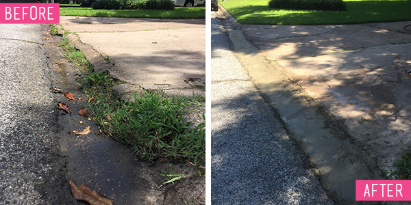 Driveway Before and After - Tips for Quikrete