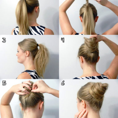 Summer Style – The No Sock Bun