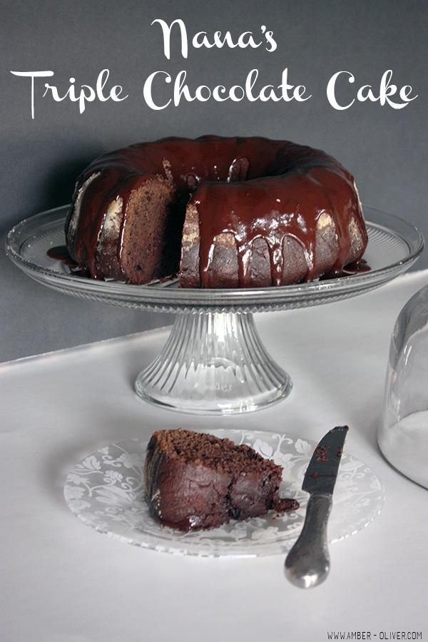 Triple-Chocolate-Cake // amber-oliver.com