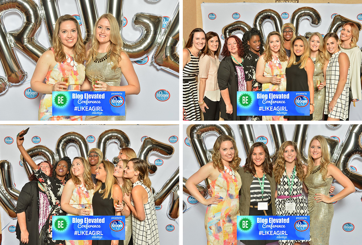 Blog-Elevated - Photo Booth at the evening party sponsored by Kroger