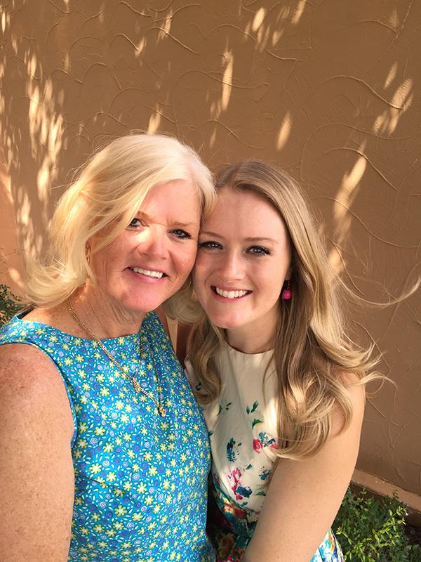 Liz and Amber