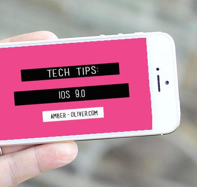 Tech Tips – iOS 9.0