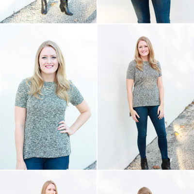 Outfit – Short Sleeve Sweater