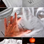 How to make a DIY Halloween T-Shirt using a sharpie | Amber-Oliver.com