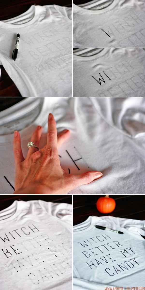 How To Make a DIY Halloween T-Shirt