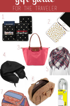Christmas Gift Guide for the Traveler by Amber Oliver