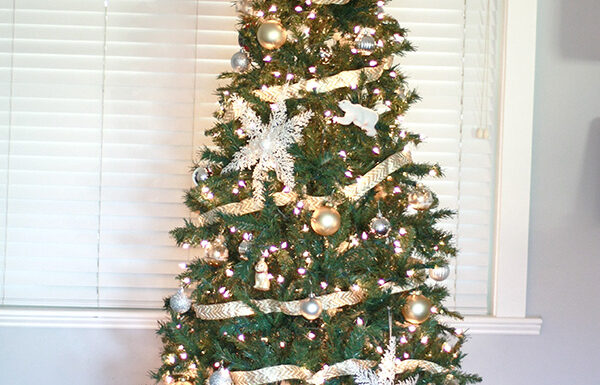 Christmas Tree from At Home Stores - Amber Oliver