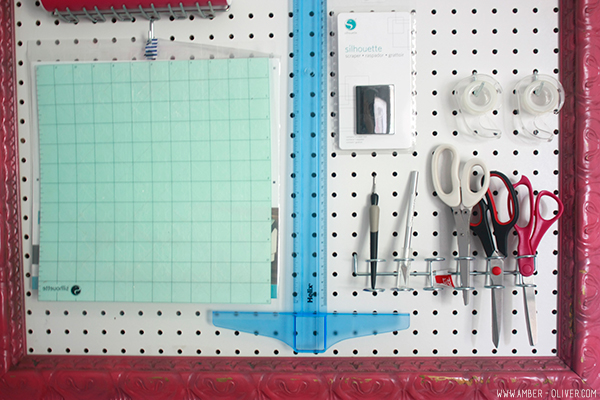 DIY peg board