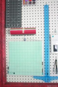 DIY peg board