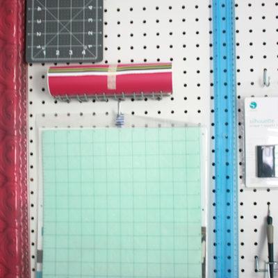 One Room Challenge: Week 2 – DIY Peg Board