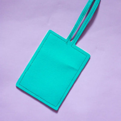 DIY Luggage Tag – free cut file!