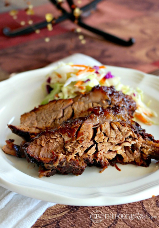 overcooked bbq brisket thefoodieaffair