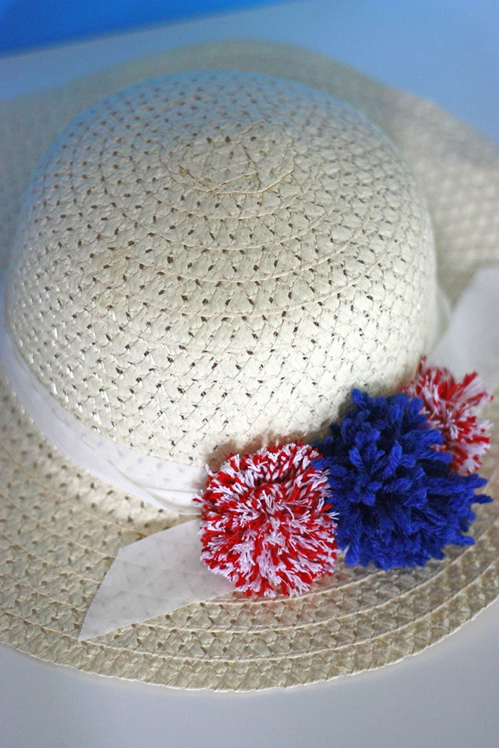 Diy Pom Pom Sun Hat How To Make Your Own
