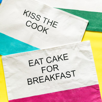 DIY Kate Spade Placemats – Make your own!