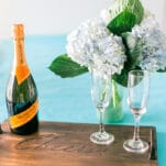DIY Serving Tray - Photo by Think Elysian Photography