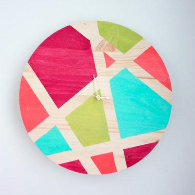 DIY Abstract Clock