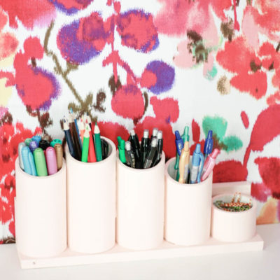 DIY Pen Organizer