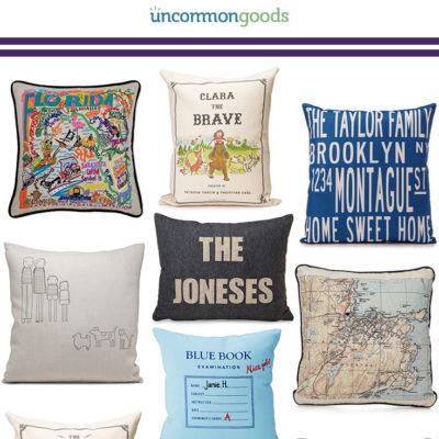 Custom Throw Pillows – 10 Unique Pillow ideas!