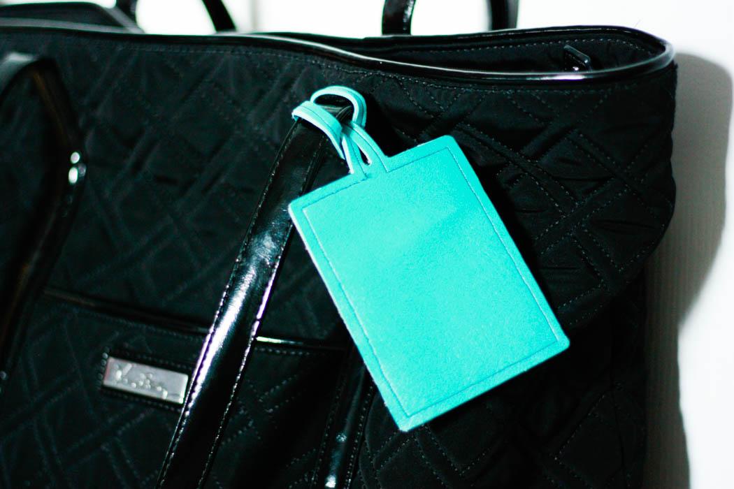 Diy Luggage Tag Free Cut File Amber Oliver