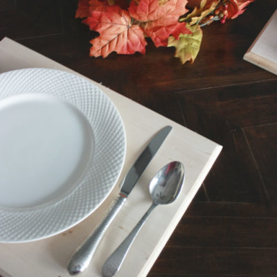 DIY Wood Placemats