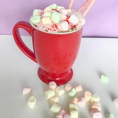 Easy Unicorn Hot Chocolate