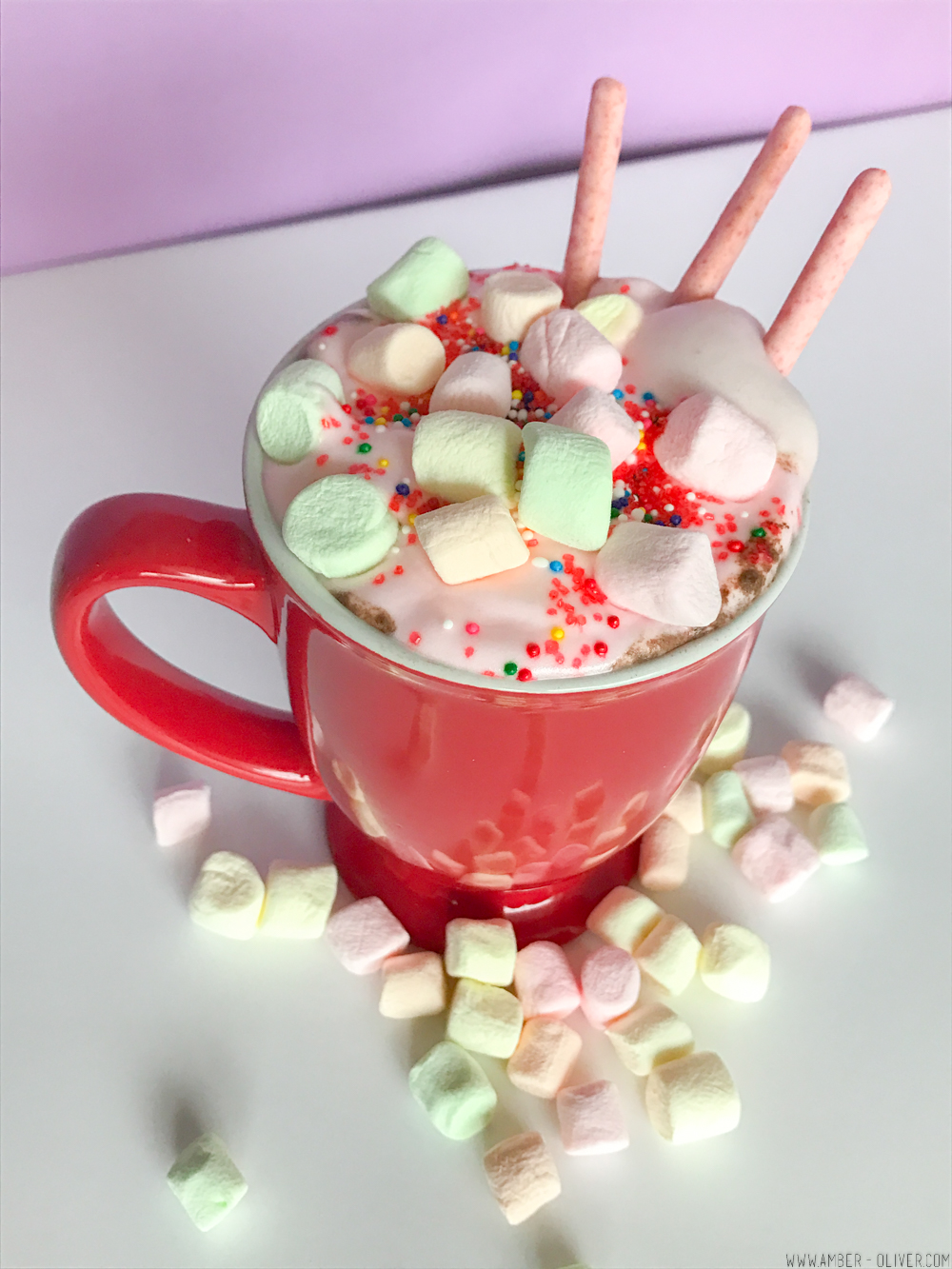 Unicorn Hot Chocolate! With a video recipe