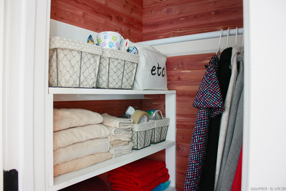beautiful cedar closet lining