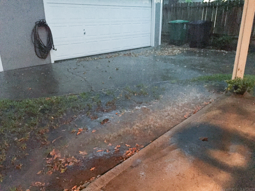 Backyard update a rainwater drainage solution for Backyard flooding solutions