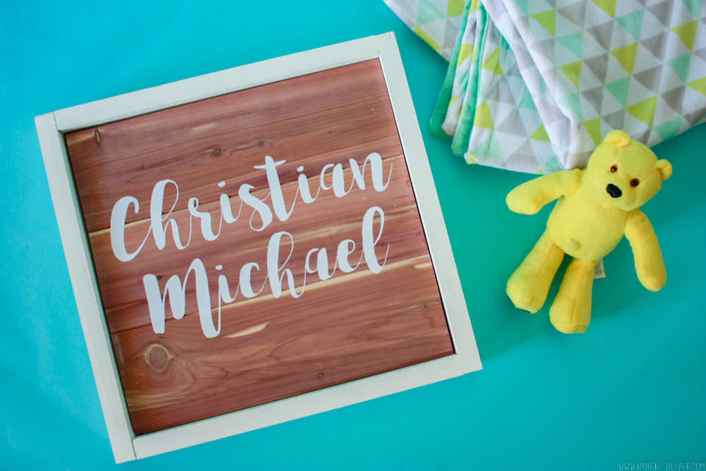 DIY Wood Sign - How to use scrap cedar planks!