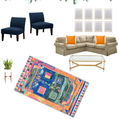 One Room Challenge: Week 1 – Living Room Makeover