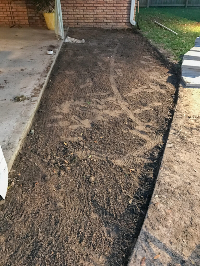 Backyard Update: Adding Patio Pavers