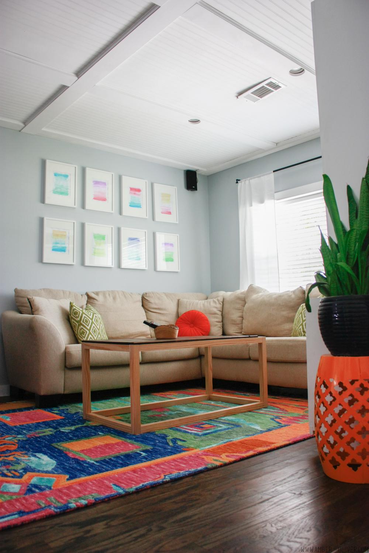 One Room Challenge Week 6 Living Room Makeover Reveal
