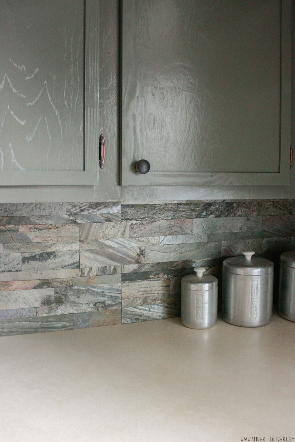 DIY Backsplash: How to Install Peel and Stick Backsplash