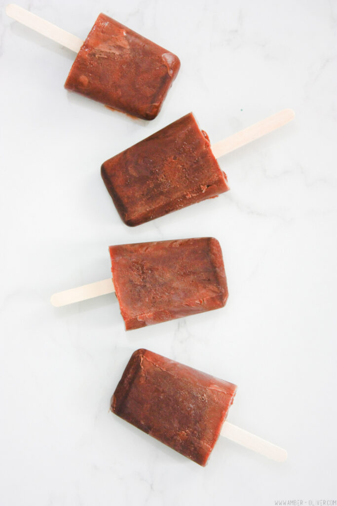 How to make your own Fudgsicles!
