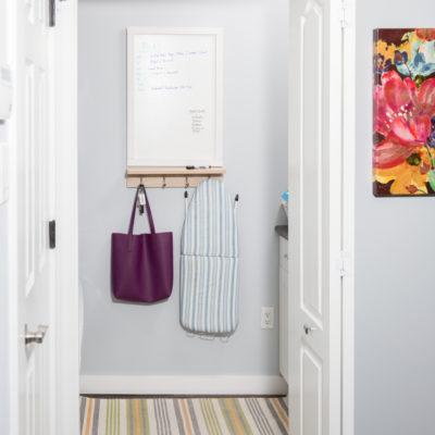 Laundry Room Ideas: A Small Laundry Room Makeover