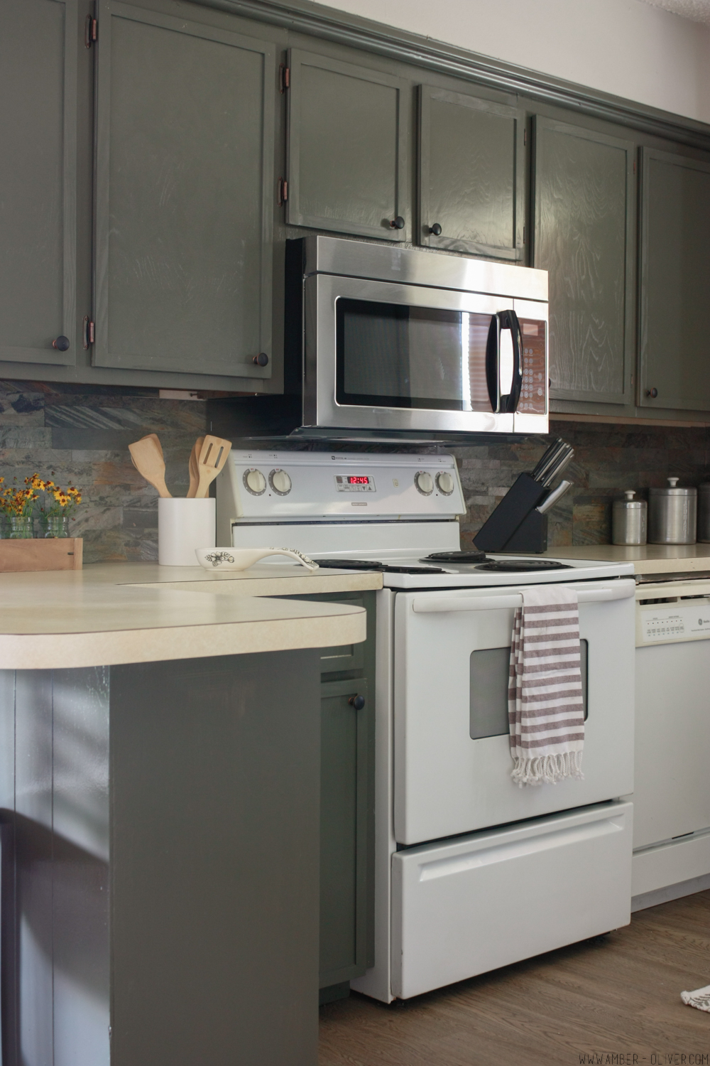 How To Update Old Kitchen Cabinets Remodel On A Budget