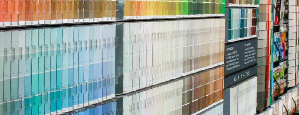 Benjamin Moore Flagship Paints in the Houston Heights