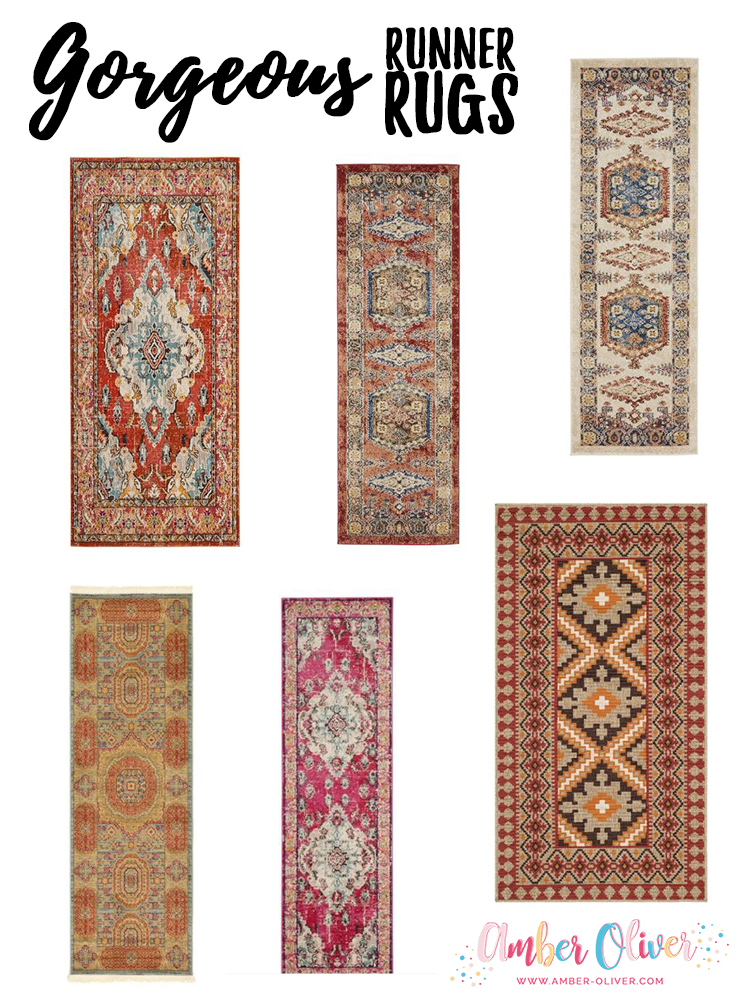 Gorgeous Runner Rugs - Vintage Persian, Turkish, Moroccan Style Rugs