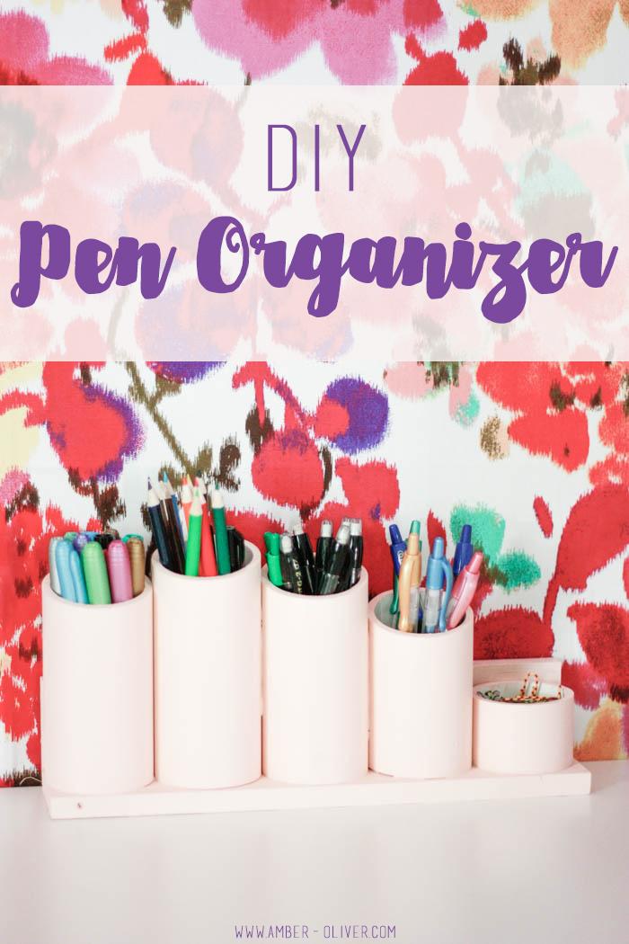 DIY Pen Organizer/ Pen Holder