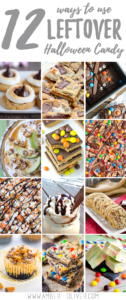 12 Ways to use leftover Halloween Candy