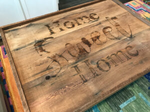 How To Transfer Printed Letters to Wood - Make a HUGE Wooden Sign!