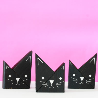 Scrap Wood Projects – DIY Wooden Cats