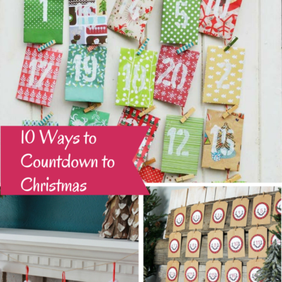 10 Ways to Countdown to Christmas