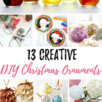 13 Creative DIY Christmas Ornaments
