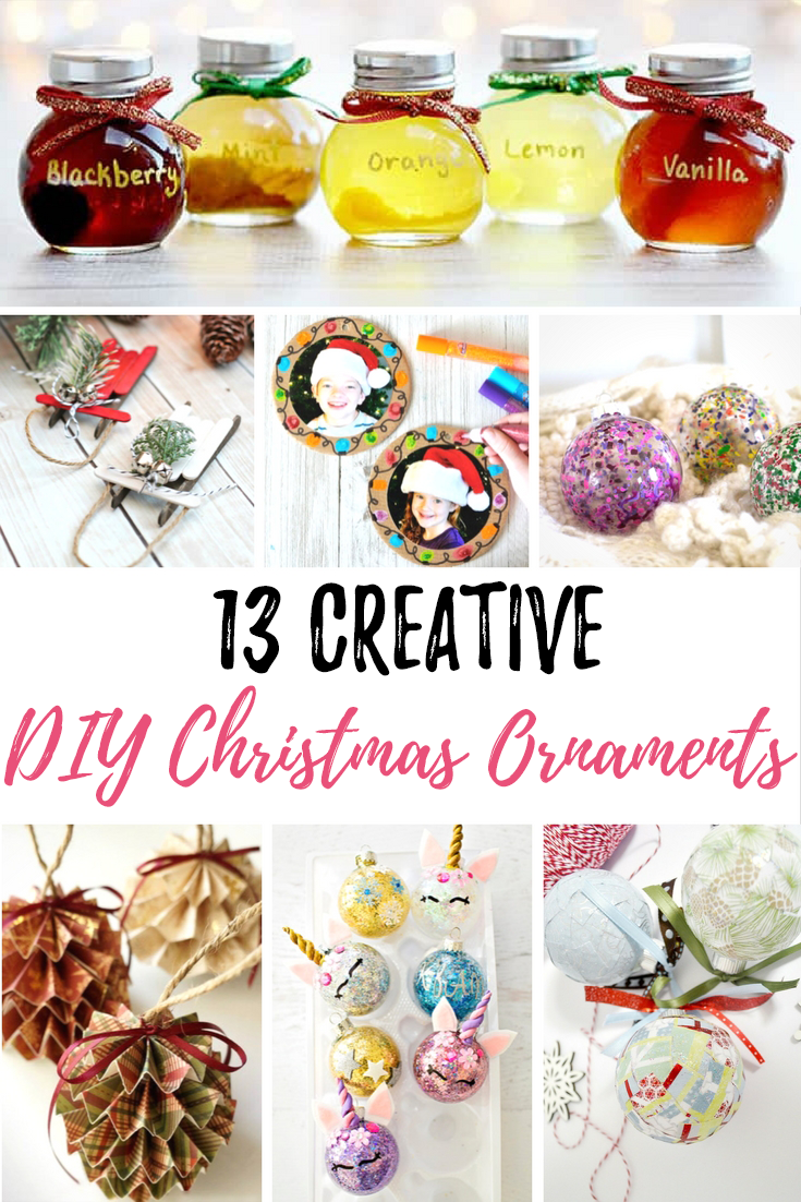 13 Creative DIY Christmas Ornaments